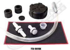Fuel Tank Refresh Kit (Black), Cap, Breather, Fittings, Go Kart Racing,