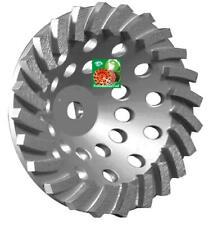 7x24seg Spiral Turbo Abrasive Diamond Cup Wheel Concrete Grinding 58 11best