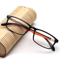 Flessibile Occhiali da lettura uomo TR90 di peso leggero 1.0 1.5 2.0 2.5 3.0 3.5