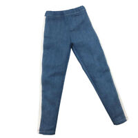 1/6 Scale Male Doll Body Trouser Jeans Pants for Hot Toys 12'' Action Figure