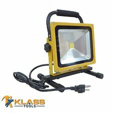 30W LED Rechargeable Work Light With Cable