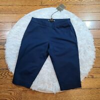 NWT Tommy Bahama Women's Blue Sail Away Boardwalk Shorts Size 0