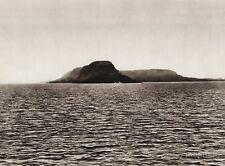 1925 Vintage Print CANADA ~ Thunder Cape Lake Superior Ontario Landscape Photo