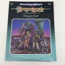 TSR ADVANCED DUNGEONS & DRAGONS DRAGONLANCE DRAGON KEEP DLE3 9245 (1989)