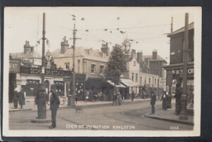 Surrey Postcard - Eden Street Junction, Kingston  RS24273