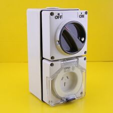Clipsal 56C315HD Switched Socket Outlet Single Phase 3 pin Power Point 15A 250V