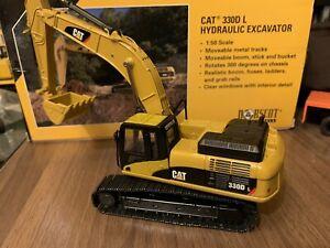 1:50 Escavatore Cat Caterpillar 330D L - Norscot 55199 Die-cast Custom