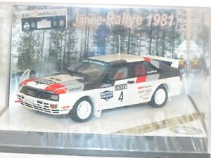 1/43 Audi Quattro  Winners Janner Rally Austria 1981 #4 F.Wittmann