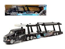 """PETERBILT 387 CAR CARRIER """"FAST & FURIOUS"""" 1/64 DIECAST MODEL BY JADA 97071"""
