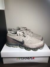 Nike Air VaporMax Flyknit- Womens- Size 12- String- [849557-202]- Running Shoes