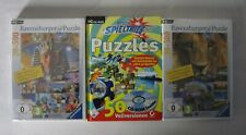 Ravensburger Puzzle – VOL 1+2 - PC Spiele Sammlung - CD Rom - Neu