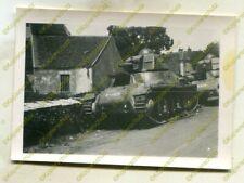 Foto, Wehrmacht, Beute, Panzer, Hotchkiss H-39, Nahaufnahme, Frankreich 20993
