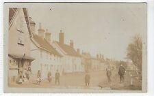 PEASENHALL STREET, YOXFORD (?): Suffolk postcard (C10985)