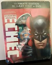 "Justice League: Doom ""La Ligue des Justiciers: Echec"" Blu-Ray France STEELBOOK"
