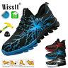 Men's Sports Safety Light Work Shoes Steel Toe Indestructible Bulletproof Boots