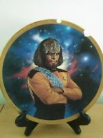 Hamilton Collection Star Trek: The Next Generation Worf Plate, with stand