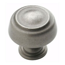 Amerock Cabinet Hardware Weathered Nickel  Knobs #53700-WN