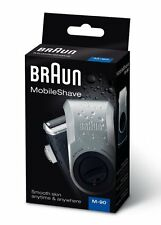 New BRAUN Men's Shaver Mobile Shave M-90 one blade Free Shipping F/S
