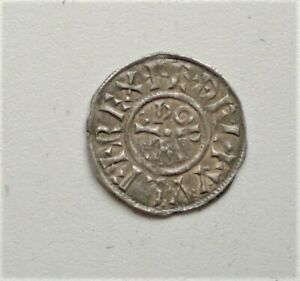 Anglo Saxon ,King of Wessex, Aethelwulf 839 -858 AD AD. Penny, GVF, {G796}