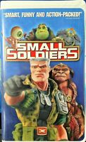Small Soldiers (VHS, 1999, Special Clam Shell Case)
