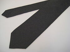 Berend DeWitt Italy 100% Silk Neck Tie - Black/Silver from Syd Jerome