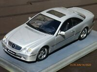 Autoart 1/18 Mercedes Benz CL 500 Lorinser W215 K50 Coupe Silver Toy Model Car