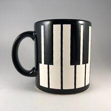 Vintage Waechtersbach Germany Piano Keys Keyboard Music Coffee Mug