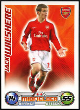 JACK Wilshere-ARSENAL-Match Attax 08/09 TRADE card (C415)