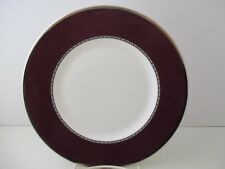 "WEDGWOOD CONTRASTS - RED - ACCENT PLATE - 9"" 0604C"