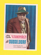 M Peter Lorre Rare CINE 1962 Card from Spain