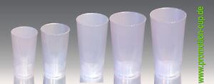 Mehrwegbecher/Plastikbecher Promotion-Cup 0,4 Transparent ohne Druck