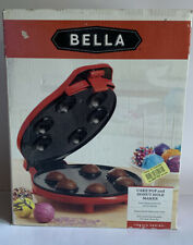 Bella Cake Pop and Donut Hole Maker 760 watts Red NEW in box