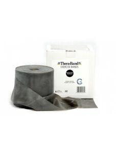 Thera-Band® 2,0 m Widerstand spezialstark/schwarz Farbe Schwarz Theraband origin