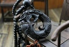 Chinese Statue Dragon Wood Carving Car Pendant/Ornament/Accessories/Amulet