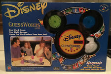 Disney GuessWords Game Brand New Electronic Game Host Mattel Vintage 2001