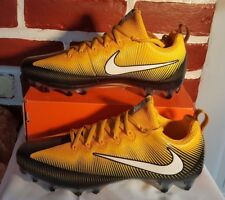 NIKE VAPOR UNTOUCHABLE PRO FOOTBALL CLEATS SIZE 11 BLACK YELLOW WHITE 839924-025