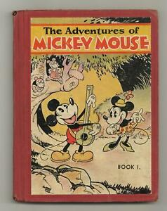 Adventures of Mickey Mouse 1H VG- 3.5 1931