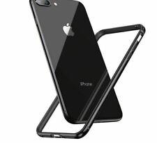 Luxury Phone Bumper Aluminum Back Border Frame Case Cover For iPhone 8 7 6  Plus