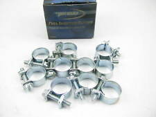 "(10) Pronto CB013F Fuel Injection Hose Clamps #6 - 5/16"" X 7/8"""