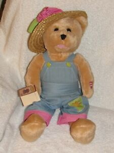 CHANTILLY LANE MUSICAL Animated BEAR Sings Oh What a Beautiful Morning with Tag