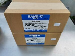 Band it JS2429 x200 smooth id clamp stainless steel 201
