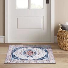 New arrival Door Mat Floor Traditional Floral Short Pile Kitchen Doormat 50x80cm