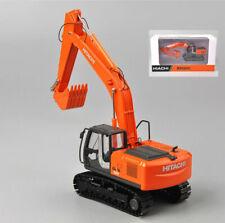 1/50 Scale Hitachi ZH200 Diecast Alloy Excavator Model Metal Tracks Vehicle Gift