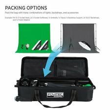 Fovitec - 1x Professional Photography & Video Lighting Equipment Roller Bag - [