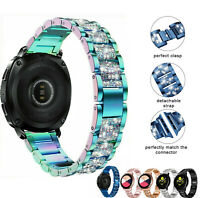 Diamond Stainless Steel Wristband For Samsung Galaxy Watch 3 41 42mm Active 2 44