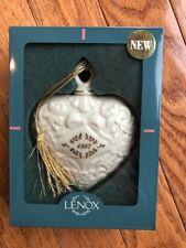 Lenox Heart Ornament Christmas 1997 Annual