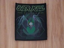 OVER KILL - THE ELECTRIC AGE (NEW) SEW ON W-PATCH OFFICIAL BAND MERCH