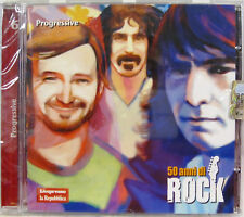 50 ANNI DI ROCK n.6 cd promo sealed FRANK ZAPPA YES GENESIS PAGE & PLANT CAMEL