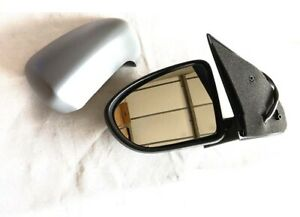 WING DOOR MIRROR HEATED ELECTRIC GREY (PRIME) L/H N/S FOR NISSAN QASHQAI 2007+