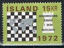 IJsland postfris 1972 MNH 464 - WK Schaken Reykjavik